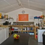 Volunteer kitchen in iMfolozi