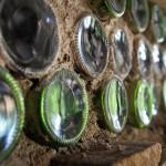 iMfolozi volunteer camp detail - bottle wall