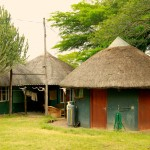 Mkhuze research camp - main area