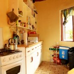 Mkhuze research camp kitchen