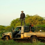 Mkhuze tracking vehicle