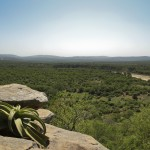 iMfolozi volunteer camp - view from 'the rock'