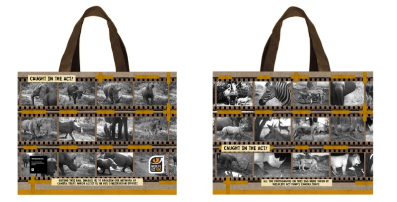 Woolworths camera trap bag