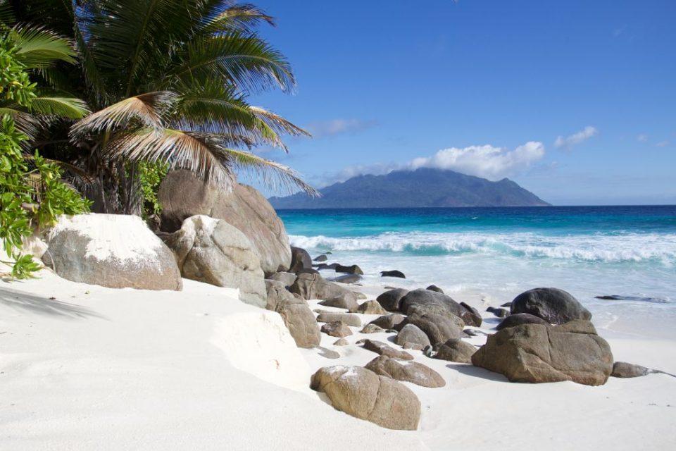 Seychelles West Beach. Photo by Paul Hayes