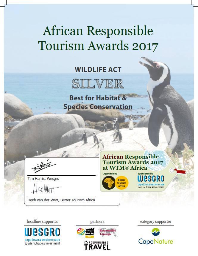 Best for Habitat & Species Conservation Award