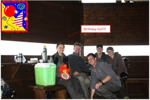 Mkhuze conservation volunteers birthday celebrations