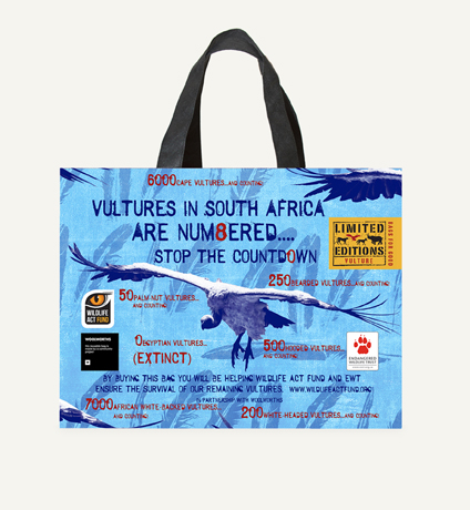 Vulture bag from Woolworths