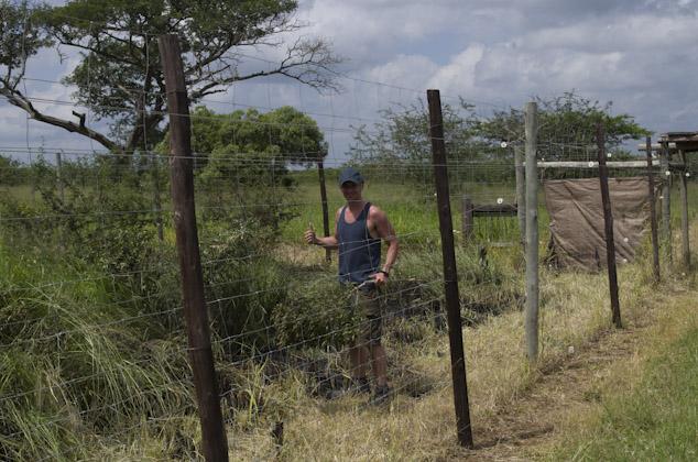 Wildlife ACT monitor Cole Du PLessis