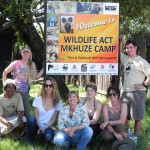 Mkhuze WIldlife ACT volunteer group Feb 2013