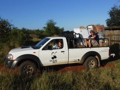 Wildlife ACT: Moving out of our previous camp in iMfolozi