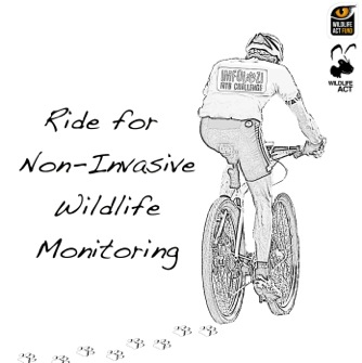 Ride for non-invasive wildlife monitoring