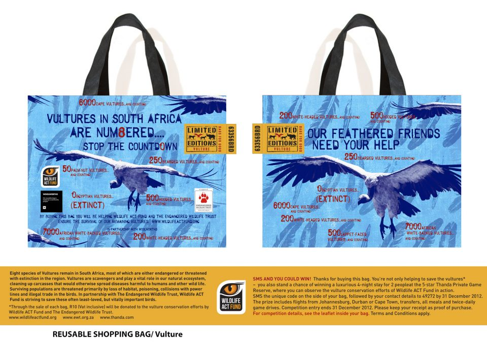 Woolworths Vulture bag