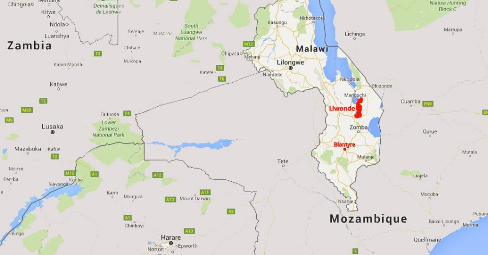 MALAWI _MAP