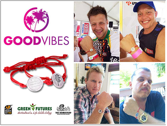 GOOD VIBES charity bracelet