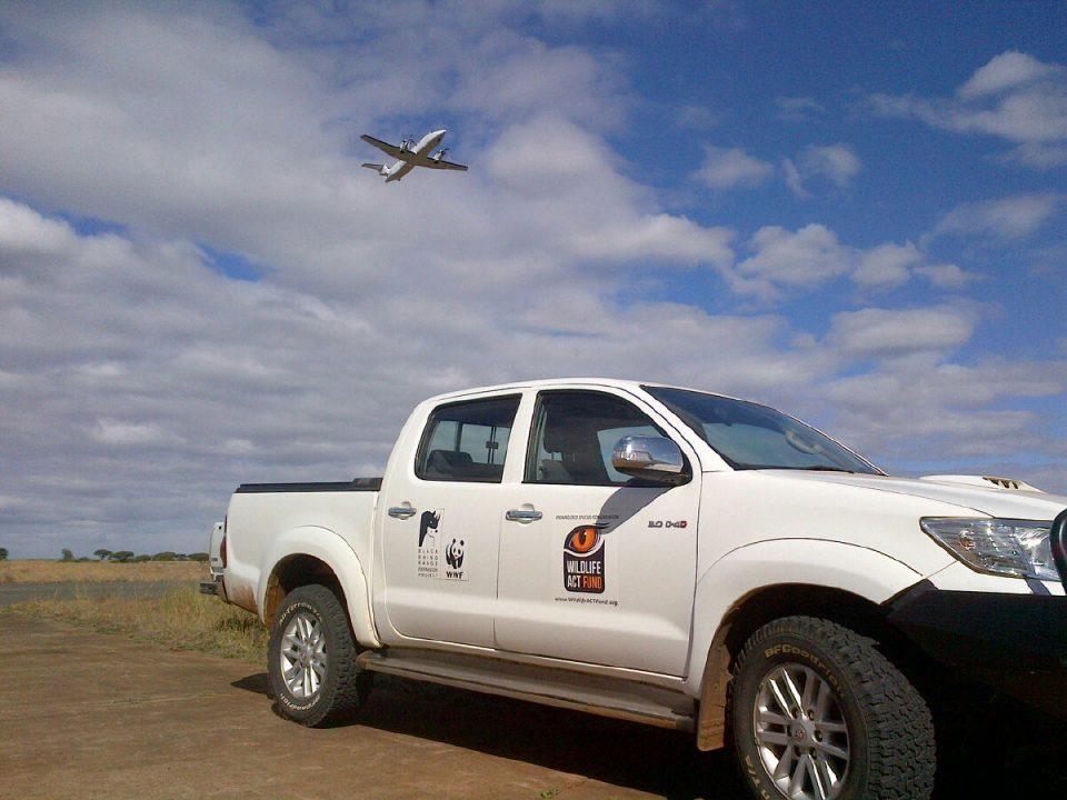 Wildlife ACT Fund Bakkie - Wild Dog Relocation