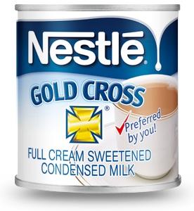 condensed milk for Leonard's Dessert