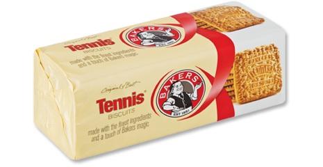 tennis biscuits for Leonard's Dessert