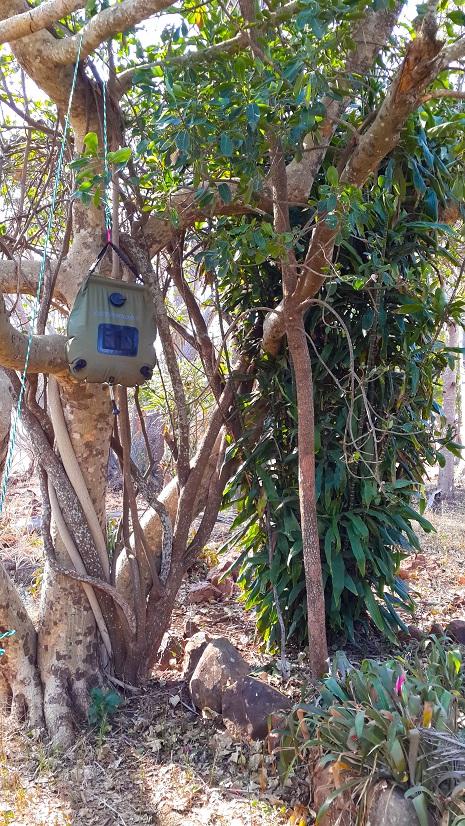 Solar Shower Zululand Rhino Reserve