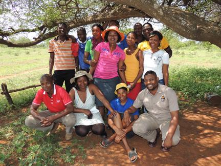 Community Conservation Liaison Thokozan Mlambo