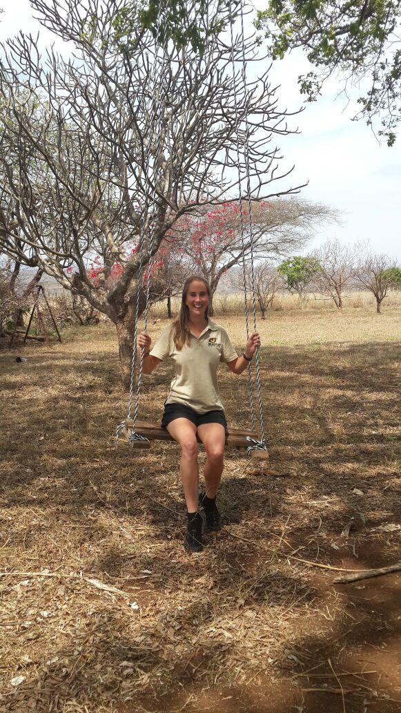 Zululand Rhino Reserve Garden swing
