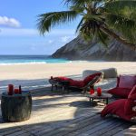 Seychelles Sunset Bar West Beach. Photo by Paul Hayes
