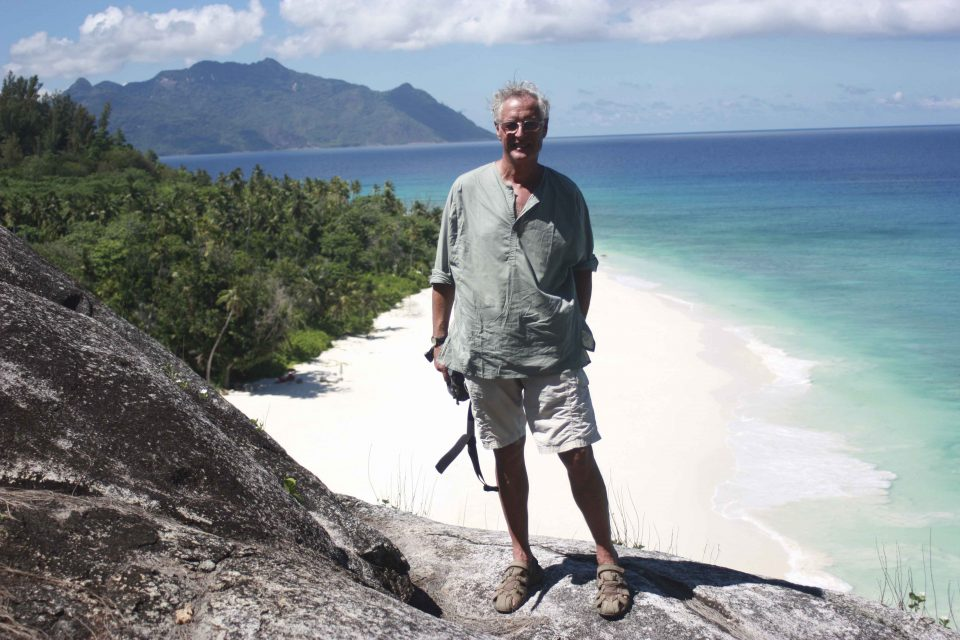 Wildlife ACT volunteer John Francis - volunteering in the Seychelles