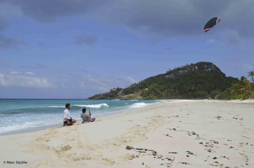 Kite boarding Seychelles