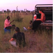 Interview with a farmer in the Chobe Enclave