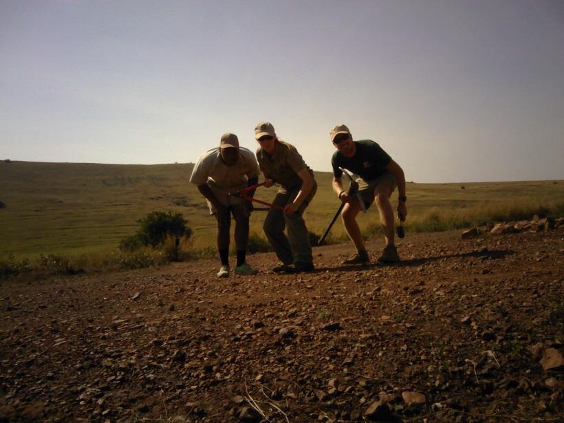 Ithala Leopard Survey Takedown Team - Wildlife ACT