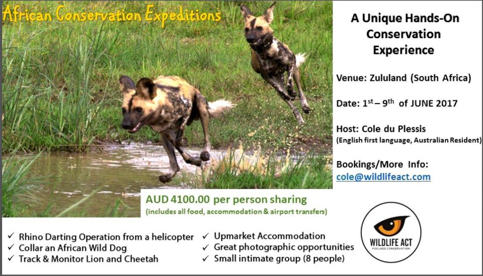 African Conservation Expedition 2017