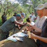Rhino Dart with Empowers Africa (Photo by Emily Macgregor)