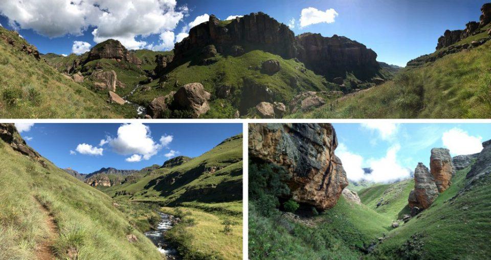 Drakensberg Leopard Survey 2017 landscape, terrain and habitat.