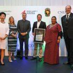 Chris Kelly Awarded at the Rhino Conservation Awards 2017