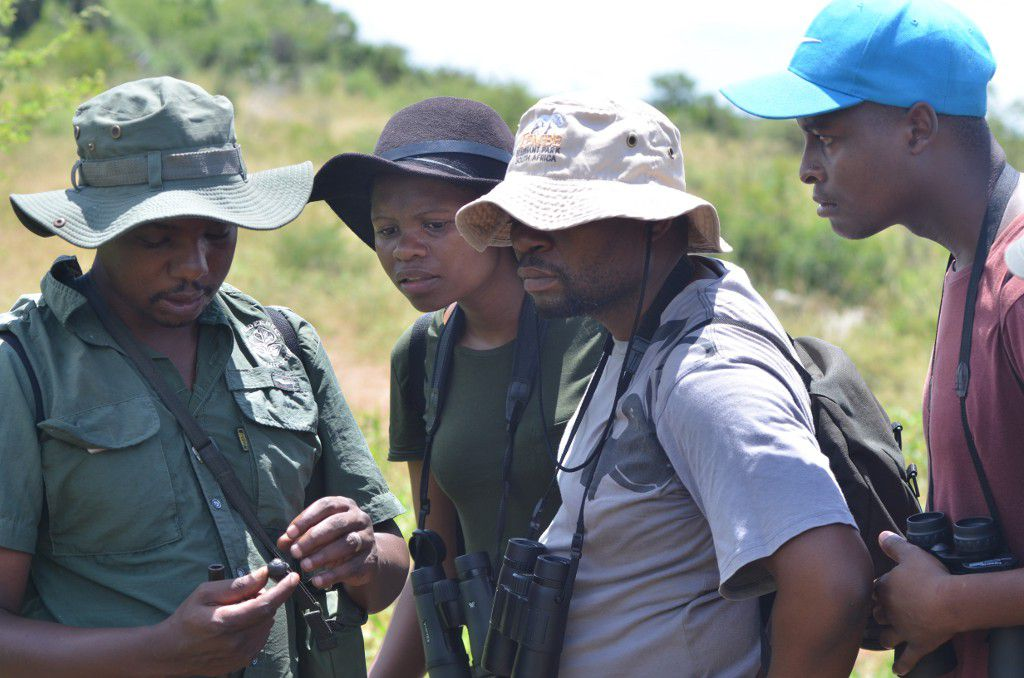 Wildlife ACT Community Conservation Club Members enter into the iMfolozi Wilderness
