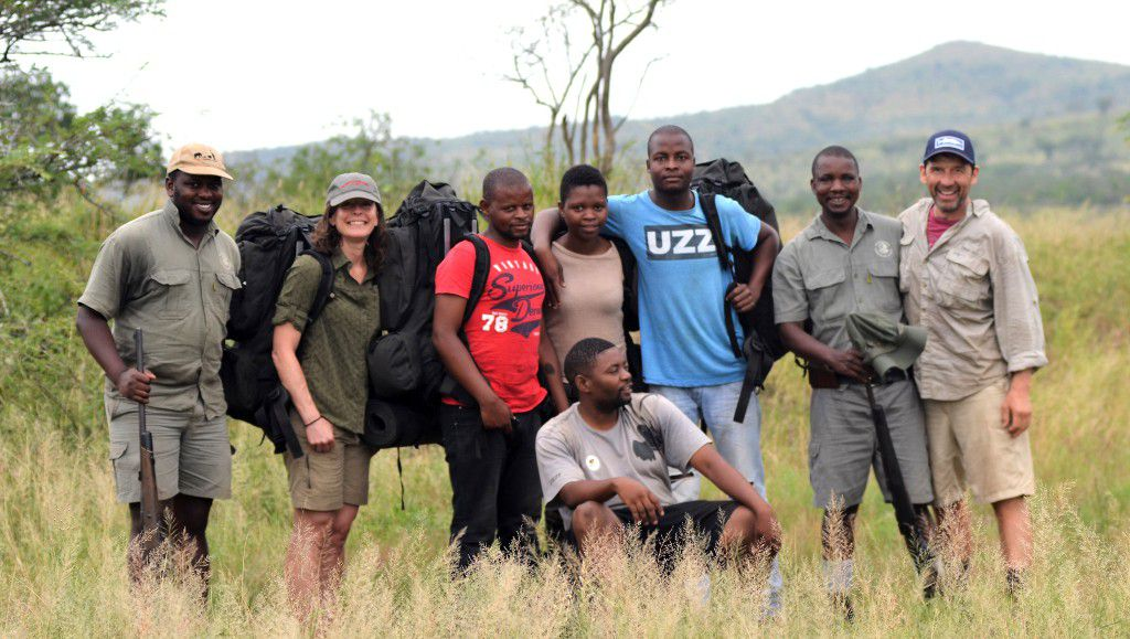 Wildlife ACT Community Conservation Club members enter into the iMfolozi Wilderness for a life-changing experience...