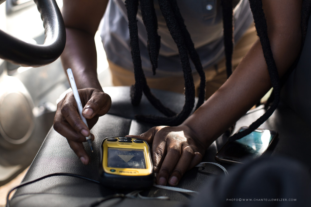 Recording GPS Location Data