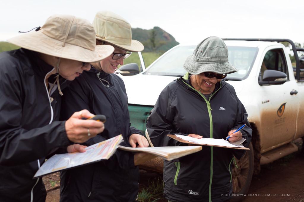 Volunteers Recording Species Data