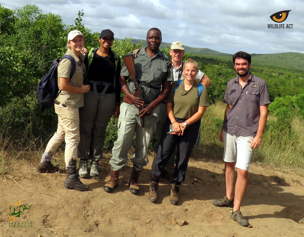 Conservation Training Course Students