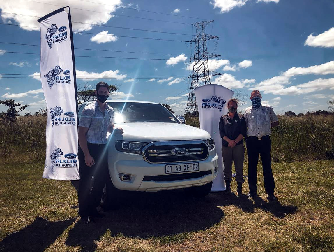 Ford Wildlife Foundation provides Ford Ranger to Wildlife ACT to support Emergency Response Fund